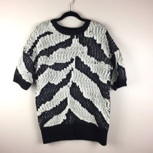 TRINA TURK Roberta Wool Sweater / Top